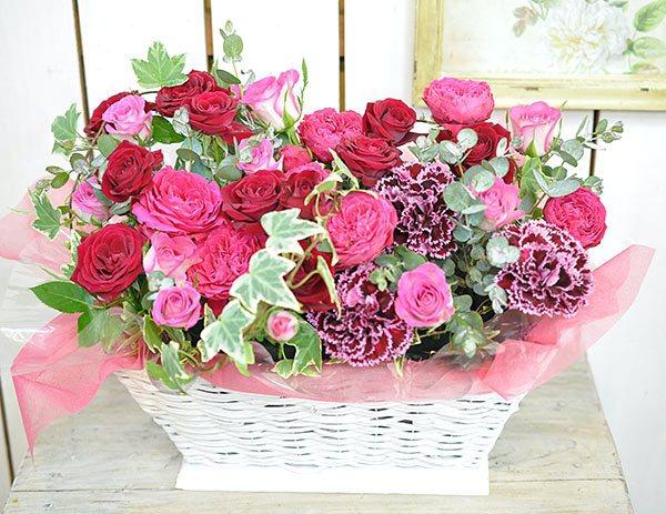 母の日 バラのアレンジメント(生花)