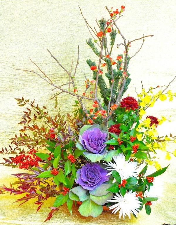 新年のお花 [羽]