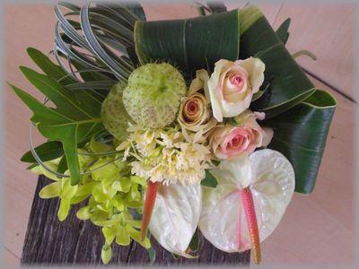 南国風ホワイト系 花束