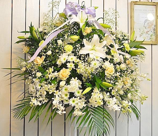 告別式 スタンド花