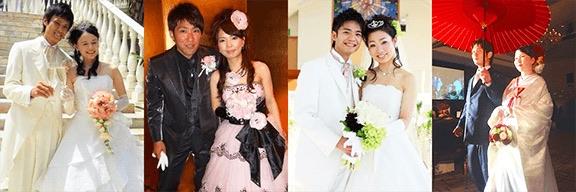 幸せいっぱいの花嫁さんたち