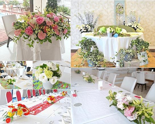 結婚式風景・装花